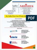 Abhishek Products Price List 2015.Compressed