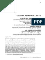 Artículo Ansiedad y Depresión 2008