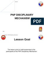 1.3 PNP Disciplinary Mechanism