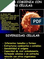Tema 1. La Vida Comienza Con Las Células