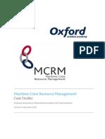 MCRM Case Studies