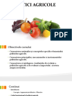 Curs 1_ politici agricole - Argumente Si Obiective 2016
