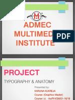 Anatomy Typography Basics