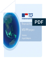 WTE Project Finance Presentation