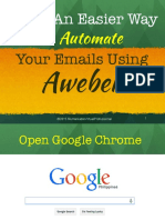 Learn an Easier Way to Automate Your Emails Using Aweber