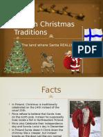 Finnish Christmas Traditions