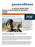 Africa and the Media- The Guardian