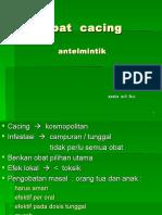 Obat  cacing.ppt
