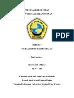 Cover psoriasis dan parapsoriasis