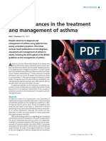 recent advances in asthma management