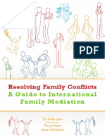 Resolving Family Conflicts- Guide to International Family Mediation- IsS