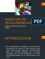Ruido en Las Telecomunicaciones