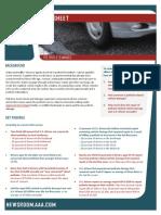 Pothole Fact Sheet