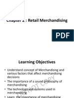 retail Merchndising Notes