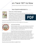 11 Post-modern Tarot 1971 to Now Tarot Heritage