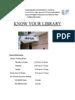 SREC coimbatore eng college library.