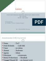 Pneumotoraks Ec TB Paru