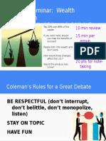 socratic seminar - debate  1