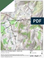 GIS - Topography - Jansen Lane