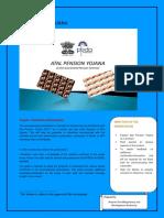 Atal Pension Yojana Training Manualdfgt br degt
