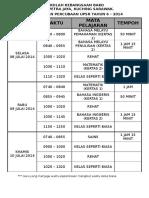 04-Jadual Ujian Percubaan UPSR 2015