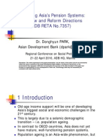 Developing Asia's Pension Systems