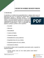 Conceptos Básicos Sobre Reservorios