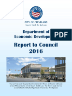 Dept of Econ Devel s 2016 Report to Council
