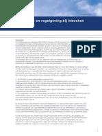 Uitleg Wet en Regelgeving Bij Inboeken