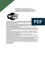 Definicion de Wifi y Como Conectarme