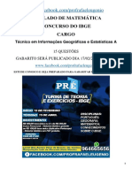 Simulado de Matemática Ibge(Primeiro)(1)