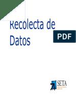5 - Recolecta de Datos