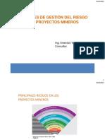 Enfoques de Gestión Del Riesgo en Proyectos Mineros