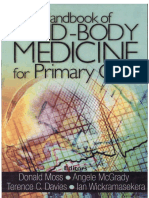 Handbook of Mind Body