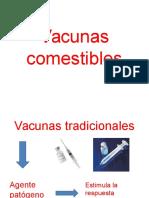 Vacunas Comestibles