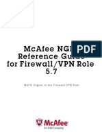 McAfee NGFW Reference Guide for Firewall VPN Role v5-7