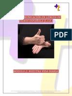 Nuestra Vida Diaria en lengua de signos