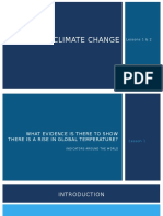 climate change presentation lesson 1-2