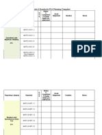 grade 4 standards fsa planning template