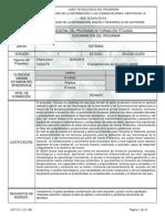 Programa Tecnico en Sistemas Ultima Version