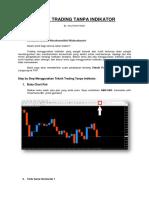 Teknik Trading Tanpa Indikator