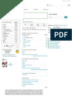 Calorías en Almendras e Información Nutricional