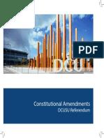 Constitutional Referendum Semester 2