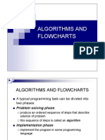 Algorithms and Flowcharts - 1