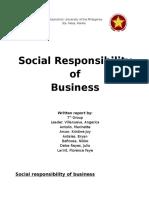 Written Report in Marketing Yeah