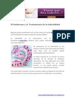 El Embarazo y El Tratamiento de La Infertilidad