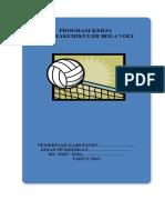 Program Kerja Ekstrakulikuler Olahraga Bola Volly SMP