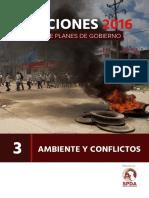 Ambiente y Conflictos en Planes de Gobierno - Análisis de La SPDA