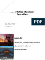 Presentation Standard - Operations