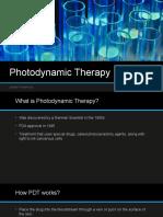photodynamic therapy